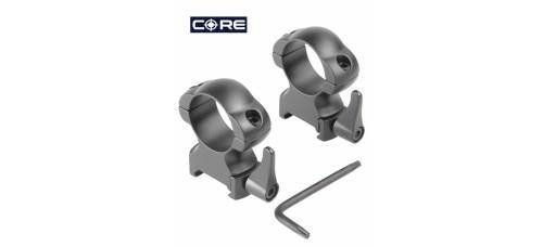 Rings SR-1002WM of 25 mm. medium, quick-release.